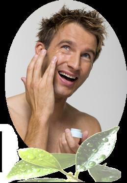 Kosmetik für den Mann